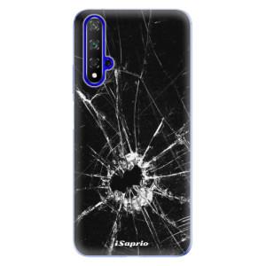 Silikonové odolné pouzdro iSaprio Broken Glass 10 na mobil Honor 20