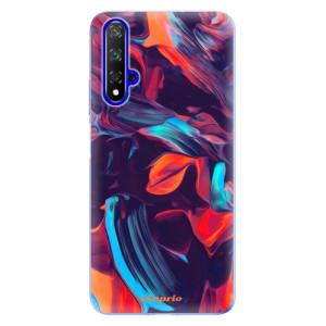 Silikonové odolné pouzdro iSaprio Color Marble 19 na mobil Honor 20