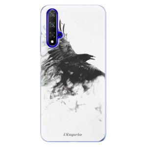 Silikonové odolné pouzdro iSaprio Dark Bird 01 na mobil Honor 20