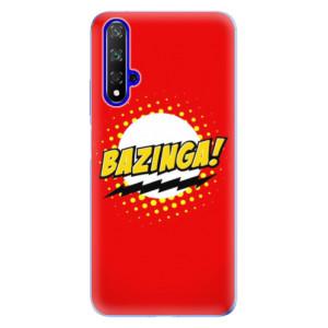 Silikonové odolné pouzdro iSaprio Bazinga 01 na mobil Honor 20