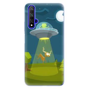 Silikonové odolné pouzdro iSaprio Alien 01 na mobil Honor 20