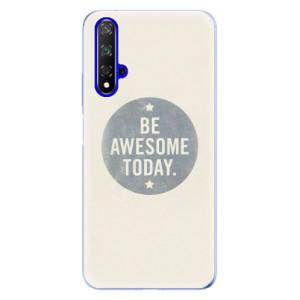 Silikonové odolné pouzdro iSaprio Awesome 02 na mobil Honor 20