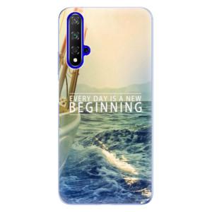 Silikonové odolné pouzdro iSaprio Beginning na mobil Honor 20