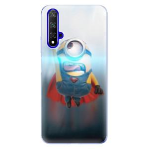 Silikonové odolné pouzdro iSaprio Mimons Superman 02 na mobil Honor 20 - poslední kus za tuto cenu