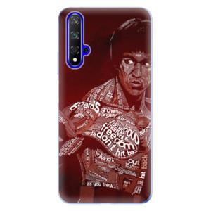 Silikonové odolné pouzdro iSaprio Bruce Lee na mobil Honor 20