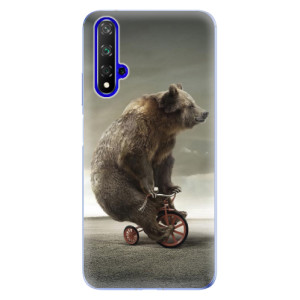 Silikonové odolné pouzdro iSaprio Bear 01 na mobil Honor 20