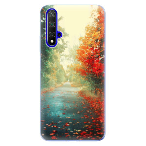 Silikonové odolné pouzdro iSaprio Autumn 03 na mobil Honor 20