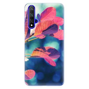Silikonové odolné pouzdro iSaprio Autumn 01 na mobil Honor 20
