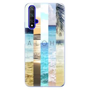 Silikonové odolné pouzdro iSaprio Aloha 02 na mobil Honor 20