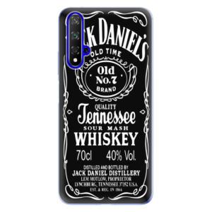 Silikonové odolné pouzdro iSaprio Jack Daniels na mobil Honor 20