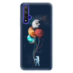 Silikonové odolné pouzdro iSaprio Balloons 02 na mobil Honor 20