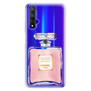 Silikonové odolné pouzdro iSaprio Chanel Rose na mobil Honor 20