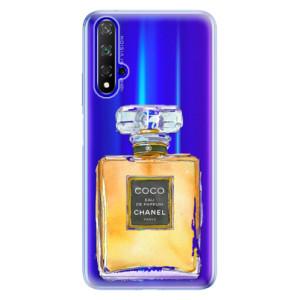 Silikonové odolné pouzdro iSaprio Chanel Gold na mobil Honor 20