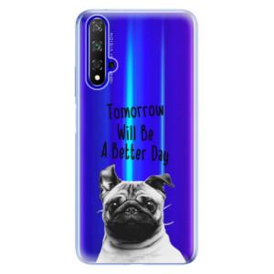 Silikonové odolné pouzdro iSaprio Better Day 01 na mobil Honor 20