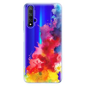 Silikonové odolné pouzdro iSaprio Color Splash 01 na mobil Honor 20