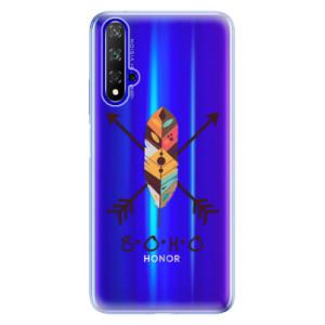 Silikonové odolné pouzdro iSaprio BOHO na mobil Honor 20