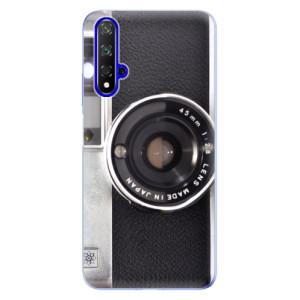 Silikonové odolné pouzdro iSaprio Vintage Camera 01 na mobil Honor 20
