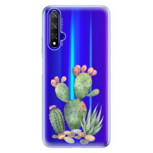 Silikonové odolné pouzdro iSaprio Cacti 01 na mobil Honor 20