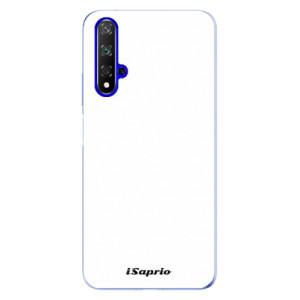 Silikonové odolné pouzdro iSaprio 4Pure bílé na mobil Honor 20
