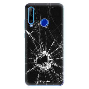 Silikonové odolné pouzdro iSaprio Broken Glass 10 na mobil Honor 20 Lite