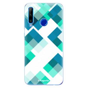 Silikonové odolné pouzdro iSaprio Abstract Squares 11 na mobil Honor 20 Lite