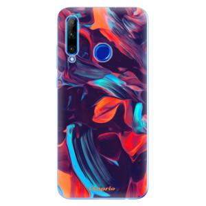 Silikonové odolné pouzdro iSaprio Color Marble 19 na mobil Honor 20 Lite
