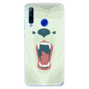 Silikonové odolné pouzdro iSaprio Angry Bear na mobil Honor 20 Lite