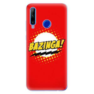 Silikonové odolné pouzdro iSaprio Bazinga 01 na mobil Honor 20 Lite