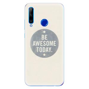 Silikonové odolné pouzdro iSaprio Awesome 02 na mobil Honor 20 Lite