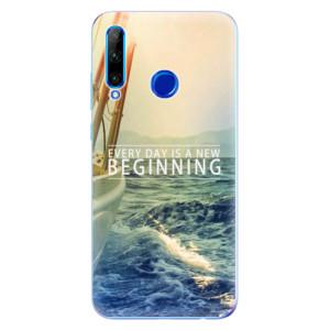 Silikonové odolné pouzdro iSaprio Beginning na mobil Honor 20 Lite