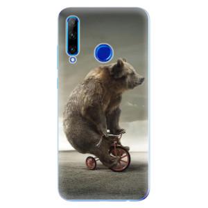 Silikonové odolné pouzdro iSaprio Bear 01 na mobil Honor 20 Lite