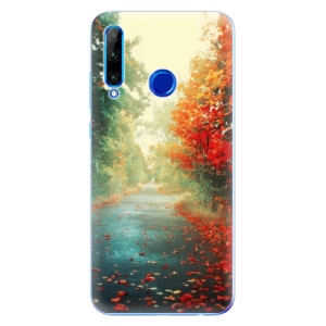 Silikonové odolné pouzdro iSaprio Autumn 03 na mobil Honor 20 Lite