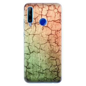 Silikonové odolné pouzdro iSaprio Cracked Wall 01 na mobil Honor 20 Lite