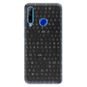 Silikonové odolné pouzdro iSaprio Ampersand 01 na mobil Honor 20 Lite