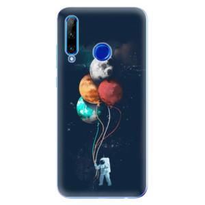 Silikonové odolné pouzdro iSaprio Balloons 02 na mobil Honor 20 Lite
