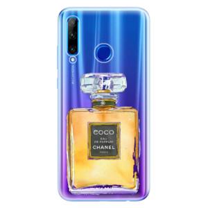 Silikonové odolné pouzdro iSaprio Chanel Gold na mobil Honor 20 Lite