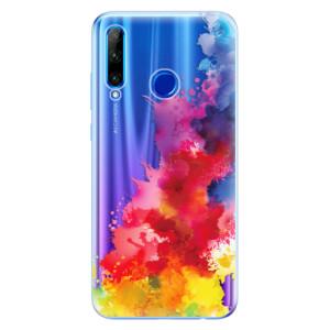 Silikonové odolné pouzdro iSaprio Color Splash 01 na mobil Honor 20 Lite