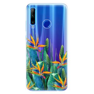 Silikonové odolné pouzdro iSaprio Exotic Flowers na mobil Honor 20 Lite