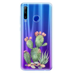 Silikonové odolné pouzdro iSaprio Cacti 01 na mobil Honor 20 Lite