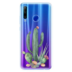 Silikonové odolné pouzdro iSaprio Cacti 02 na mobil Honor 20 Lite