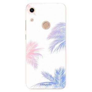 Silikonové odolné pouzdro iSaprio Digital Palms 10 na mobil Honor 8A