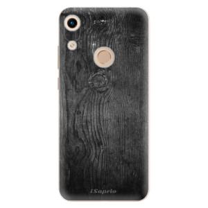 Silikonové odolné pouzdro iSaprio Black Wood 13 na mobil Honor 8A