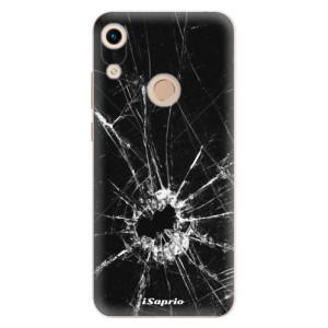 Silikonové odolné pouzdro iSaprio Broken Glass 10 na mobil Honor 8A