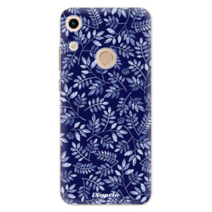 Silikonové odolné pouzdro iSaprio Blue Leaves 05 na mobil Honor 8A