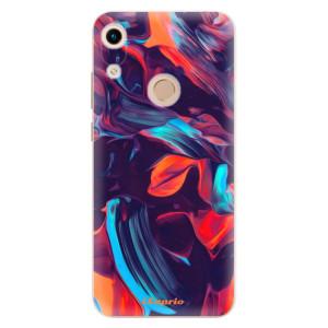 Silikonové odolné pouzdro iSaprio Color Marble 19 na mobil Honor 8A