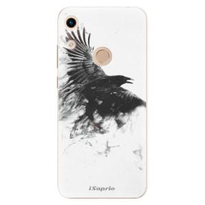Silikonové odolné pouzdro iSaprio Dark Bird 01 na mobil Honor 8A