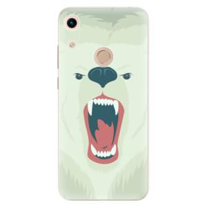 Silikonové odolné pouzdro iSaprio Angry Bear na mobil Honor 8A