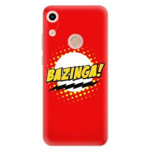 Silikonové odolné pouzdro iSaprio Bazinga 01 na mobil Honor 8A