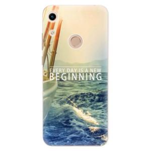 Silikonové odolné pouzdro iSaprio Beginning na mobil Honor 8A
