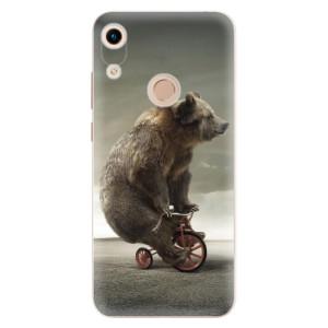 Silikonové odolné pouzdro iSaprio Bear 01 na mobil Honor 8A